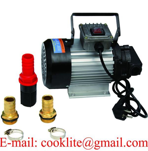 Hydraulic / Motor / Engine / Waste / Diesel Fuel Oil Transfer Gear Pump Motor 220V AC 550W 20L/Min