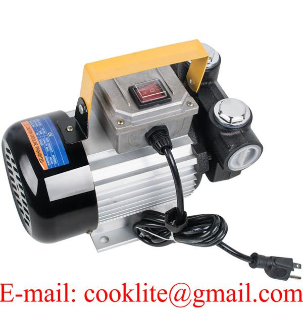 110V 220V AC 60L/Min 550W Oil Diesel Fuel Transfer Pump Self Priming