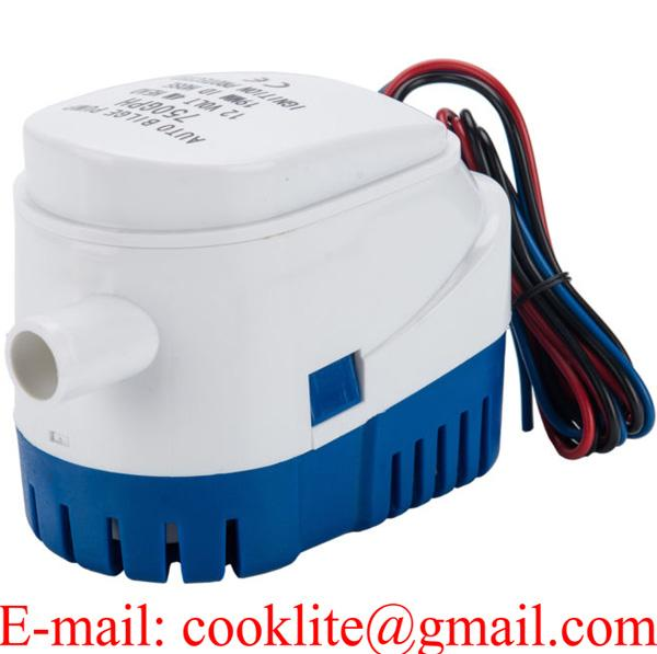 750 GPH Portable Automatic Bilge Pump 12V 24V