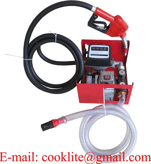 Diesel Biodiesel Kerosene Transfer Fuel Pump Meter Automatic Fueling Nozzle 110V 230V