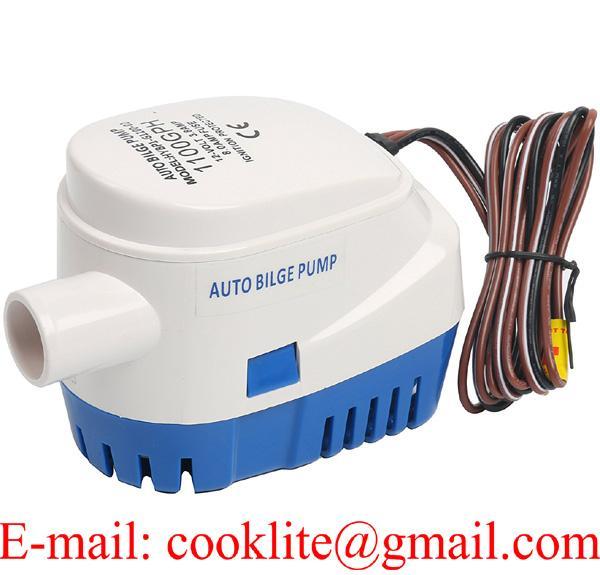Automatic Boat Marine Bilge/Sump Water Pump 1100 GPH 12V 24V