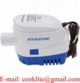 Automatic Marine Boat Submersible Bilge Water Pump 12V 24V 1100GPH