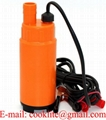 "DC 12V 24V Electric Water Submersible Intank Fuel Diesel Pump Oil Liquid 3/4"" Hose"