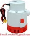 12V DC Submersible Bilge Pump 3000 GPH Electric Marine Boat Water Pump