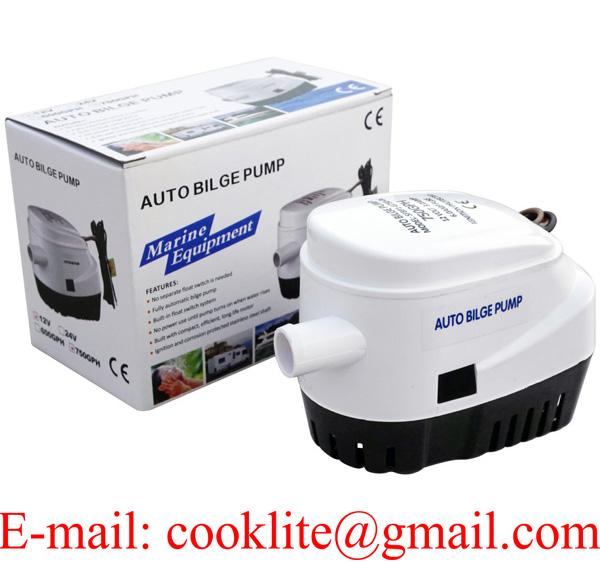 Automatic Bilge Water Pump 750 GPH Marine Boat DC 12V 24V  Submersible