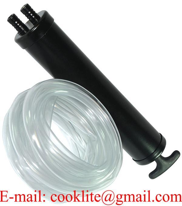 Dual Action Oil Fuel Fluid Diesel Hand Suction Transfer Pump Gun