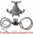 Transfer Refilling Petrol Gasoline Diesel Fuel Foot Pedal Pump Kit & Manual Nozzle w/ 6  Hose