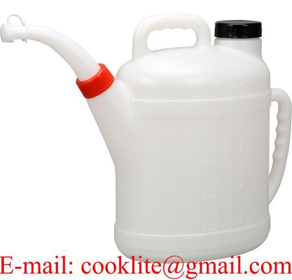 PE Kunststoff Heizölkanne - Flüssigkeitsmaß - Ölkanne 10 Liter