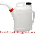 PE Kunststoff Heizölkanne / Ölkanne 10 Liter
