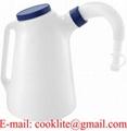 Füllkanne Ölkanne Wasser Öl Wischwasser Messkanne Einfüllkanne Gieser 5 Liter
