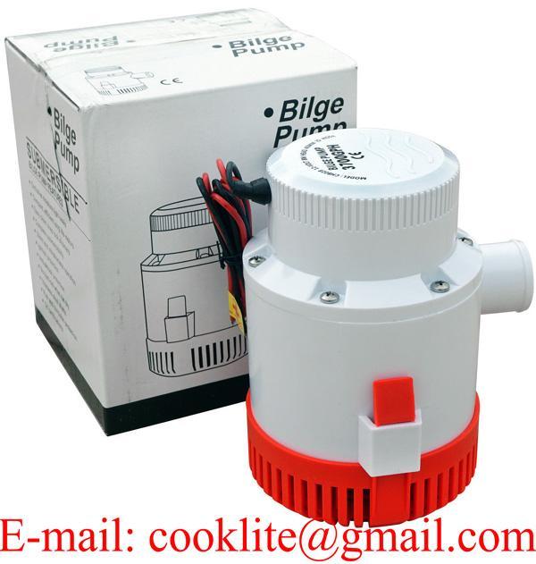 3500 GPH Marine Bilge Pump 12/24 Volt