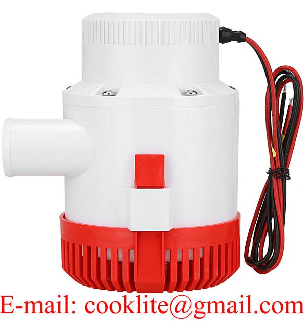 12V 24V Boat Bilge Pump 3500 GPH Submersible Pump
