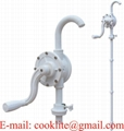 Rotary drum & barrel pump for adblue/urea & water