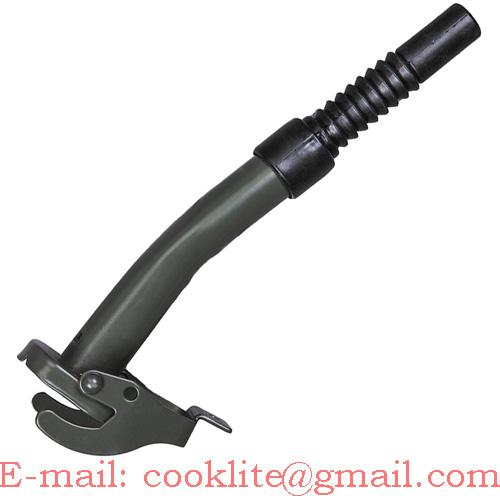 Jerry Can Spout - Semi Flexible Spout For European NATO Style Jerry Cans