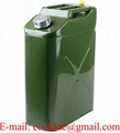 Offroad 5-Gallon Metal Safety Jerry Can with Spout