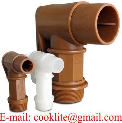 Gold PE Plastic Standard Drum Faucets