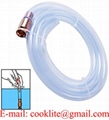 6ft Self-Priming Copper Jiggler Pump Transfer Fuel Water Oil Paint Siphon Hose