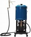 Нагнетатель густых смазок (бак 25л) передвижной, электрический