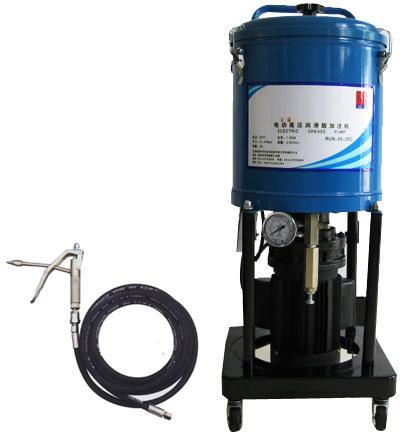Солидолонагнетатель передвижной электрический 25л, длина шланга 4м, 380 V / 1.1 кВт