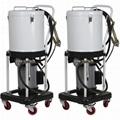 Передвижной солидолонагнетатель с электродвигателем 220V/1,1кВт