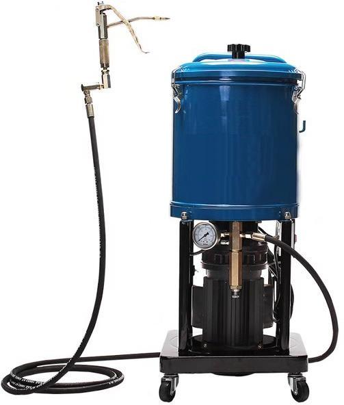 Солидолонагнетатель электрический объем 20 л, шланг 4,0 м, 230 V / 1.1 кВт