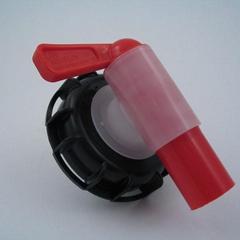 DIN 61 Aeroflow Breather Drum Dispensing Tap Plastic Spigot