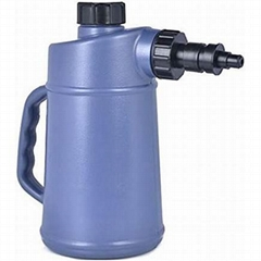 Auto Shut Off 2 Quart Golf Cart / Battery Plastic Jug Water Filler Bottle