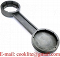 All-in-one Plastic Drum Bung Spanner Pail Lid Wrench Opener