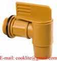 "2"" Polyethylene Plastic Drum Faucet PE Barrel Tap"