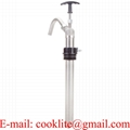 5 Gallon Pail Stainless Steel Vertical Lift Hand Pump