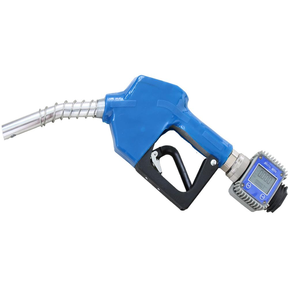 Metering Auto Gasoline Diesel Fuel Dispenser Nozzle 11A Automatic Oil Delivery Gun