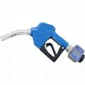 Metering Auto Gasoline Diesel Fuel Dispenser Nozzle 11A Automatic Oil Delivery Gun
