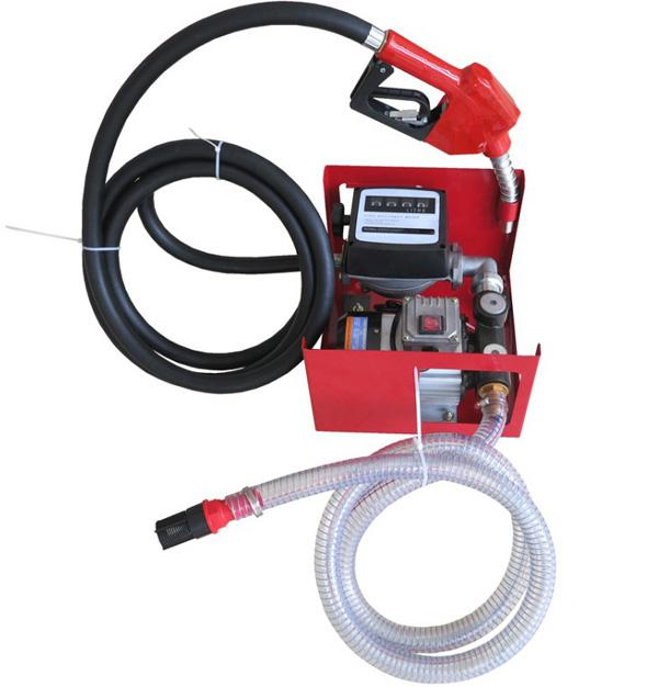 Portable Gas Filling Station 220 Volt AC Diesel Biodiesel Kerosene Oil Fuel Dispenser Pump Kit