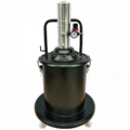 20 Liter Air Operated Grease Bucket Pump 20L Wheeled High Pressure Pneumatic Lubricator Machine