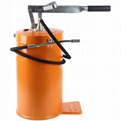 Heavy Duty High Volume Grease Pump Bucket Greaser - 16L