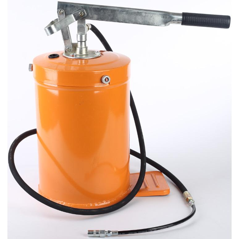 Hand Operated Grease Bucket Pump 10L Manual Oil Dispenser