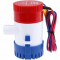 Non Automatic Bilge Pump 350 GPH 12V 24V