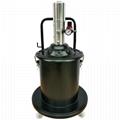 Trykluftdrevne smøreapparat for 20 kg fedtspand