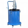 Pneumatic 50:1 ratio high pressure grease pump 30L