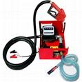 Pompa transfer combustibil motorina 12V/24V cu contor