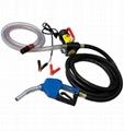 12v fuel transfer pump and hose with gun