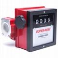 Mechanische teller voor o.a. diesel, petroleum, benzine