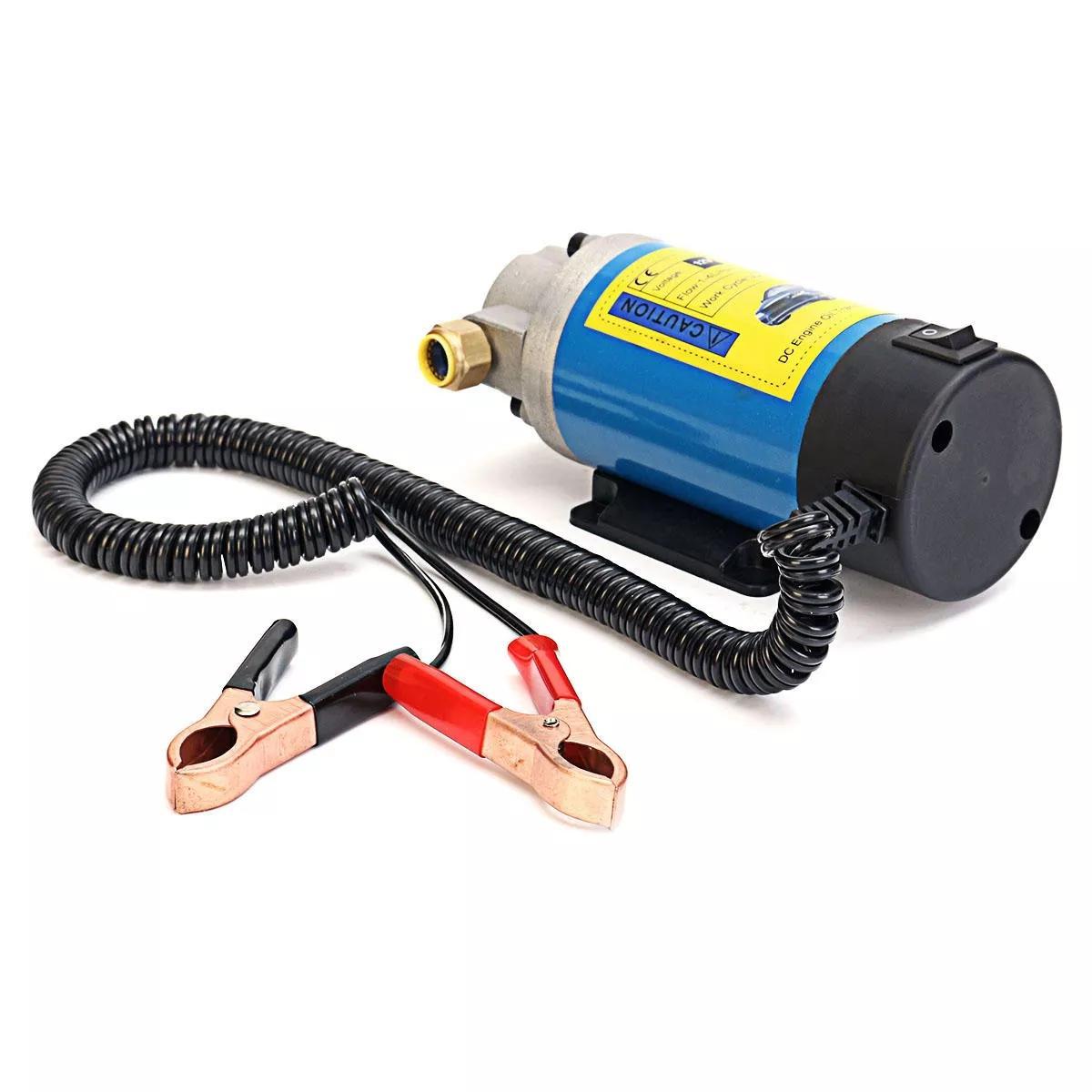 Φορητή Αντλία Αλλαγής Λαδιών & Καυσίμων 12V 100W