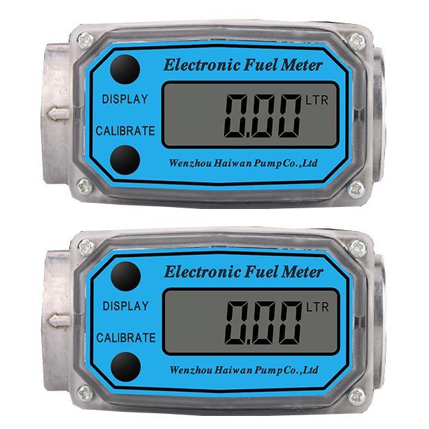 Digitális üzemanyag-olaj-gázolaj átfolyásmérő óra