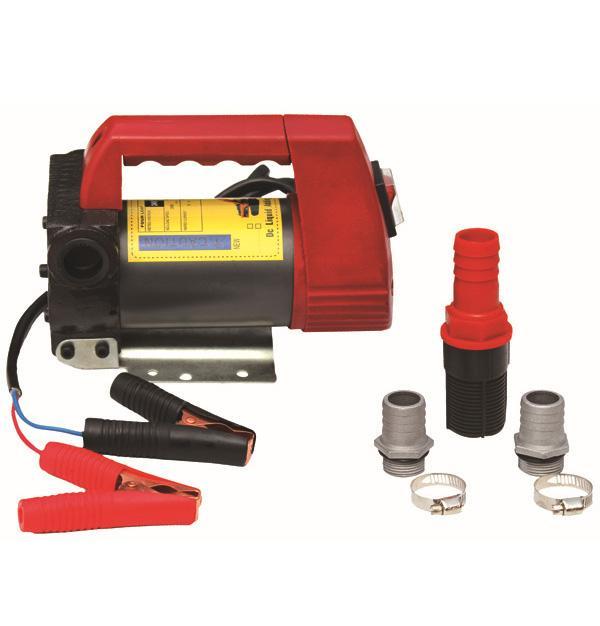 Електрическа помпа за трансфер на масло и гориво 12V
