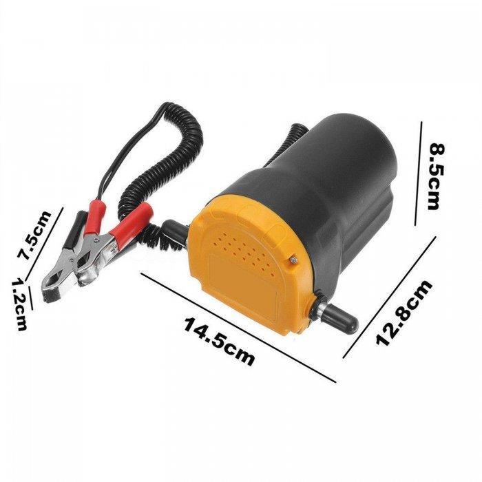 Pompe électrique - Vidangeur et remplisseur d'huile - 12 Volts