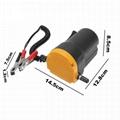Pompe électrique - Vidangeur et remplisseur d huile - 12 Volts