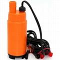 Pompe Submersible électrique portative de 12V DC 30L/min