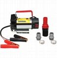 12V Portable pompe à fioul et diesel 45L/Min