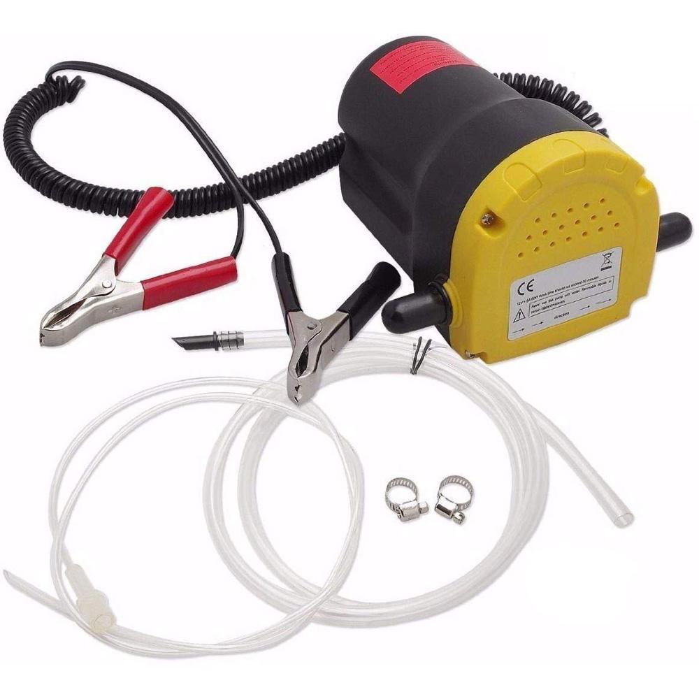 Oljeskiftpumpe 12V 60W til dieselolje og motorolje